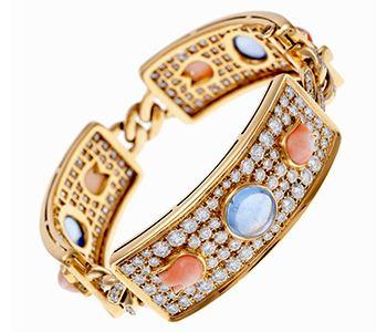 Женские браслеты с драгоценными