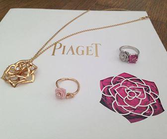 5e7a91606b8c Удивительной стала коллекция, посвященная 30-ю розы Ива Пьяже в 2012 г. Все  серьги, браслеты, кольца и колье выполняются из золота и драгоценных камней  ...